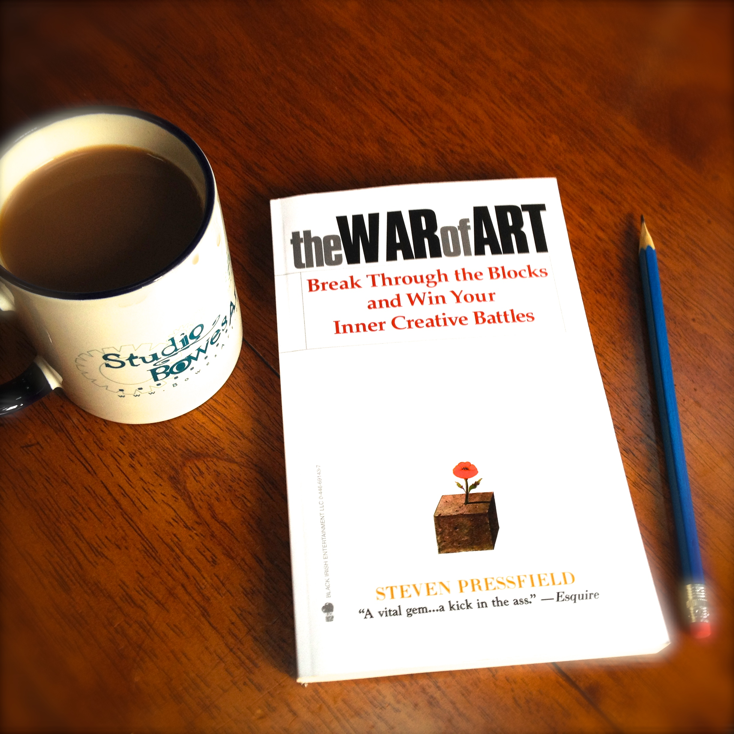 "Online Book-club reading of ""The War of Art"""