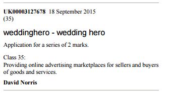 David Norris - Wedding Hero