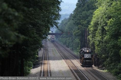 Former PRR main line.