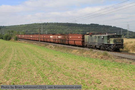 RWE Power coal train.