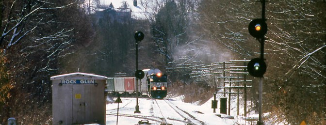 Daily Post: Erie Signals at Rock Glen