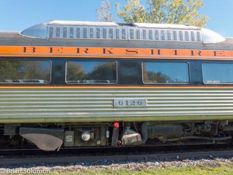 Berkshire Scenic's former Boston & Maine Budd-built RDC. Lumix LX7 photo.