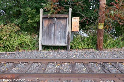 DL&W relay box Portland, PA.