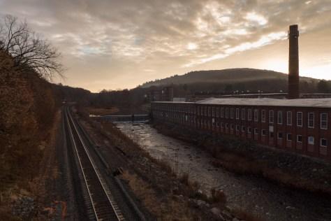 Sunrise, West Warren, Massachusetts, November 2015. Lumix LX7 photograph.