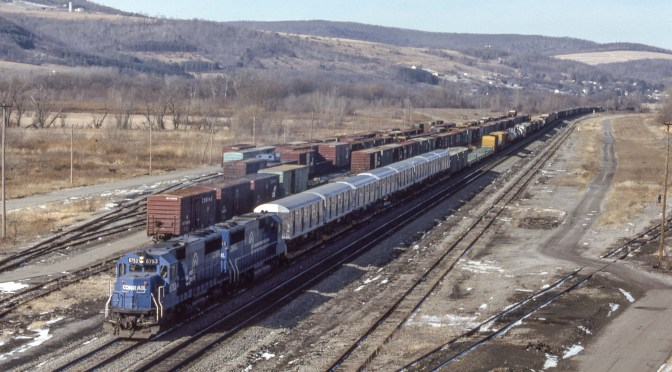 Tracking the Light EXTRA: Conrail 27 Years Ago this Very Day!