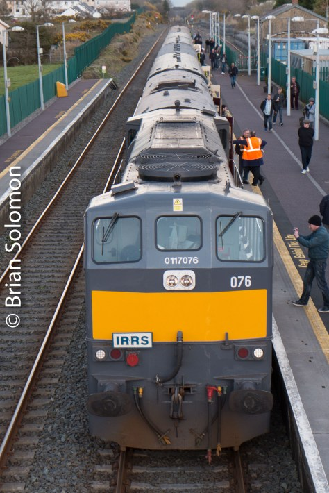 Amoung our numerous photo stops included a brief visit to Rathmore on the line from Mallow to Killarney.