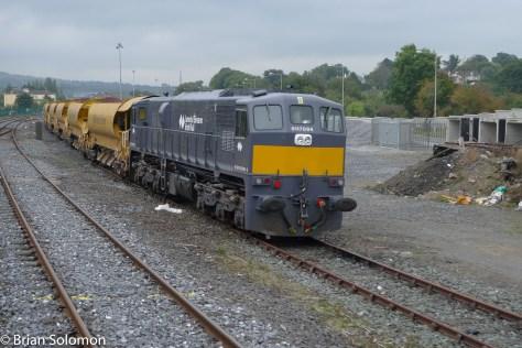 Maintenance trains.