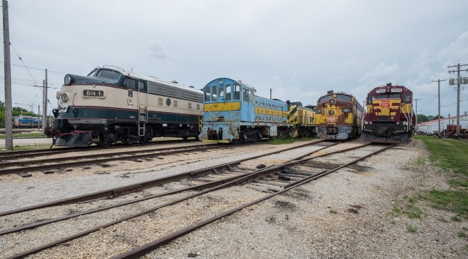 """A Visit to the Illinois Railway Museum: """"Hello old Friend, What are YOU doing here?"""""""