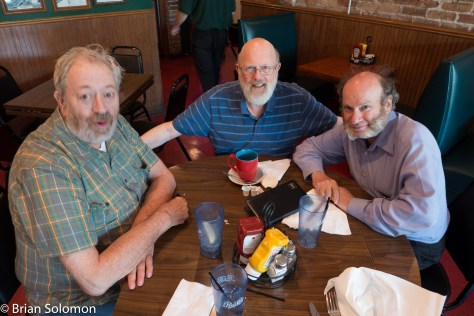 John Gruber (left), Art Miller (center) and David Mattoon (right). Lumix LX7 photo.