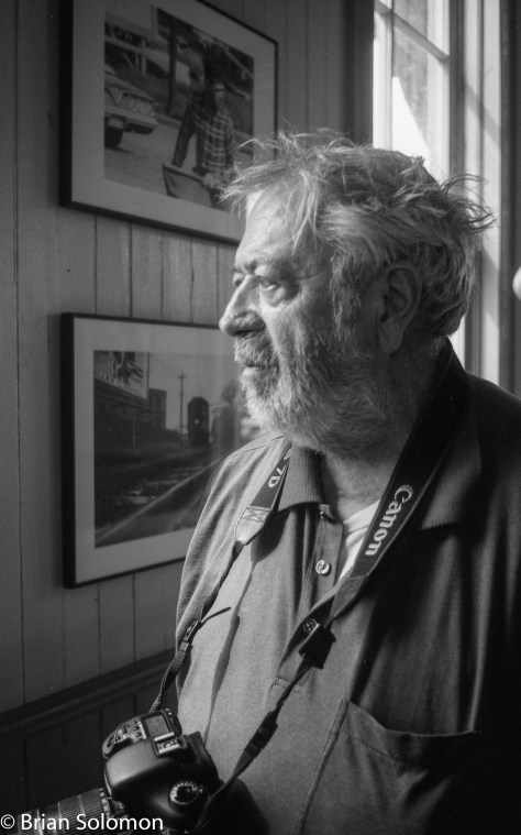 John Gruber at IRM. Exposed on Ilford Pan F using a Leica 3A with Nikkor f3.5 35mm lens.