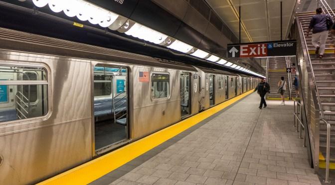 Photographer's challenge: New York City Subway's 34th Street-Hudson Yards.