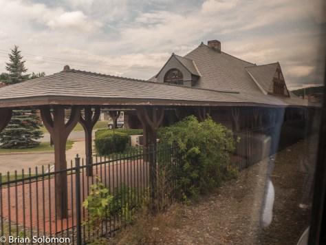 Old B&A station at Chatham, New York.