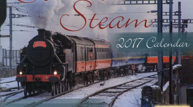 Cover of the Southern Steam—2017 Calendar.
