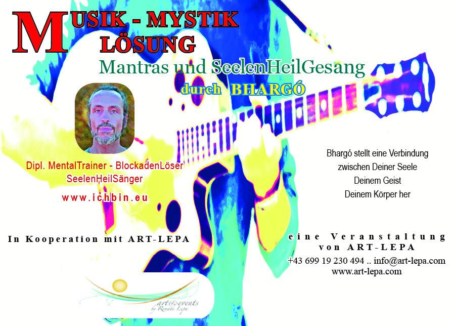 Bhargó: Musik - Mystik - Lösung