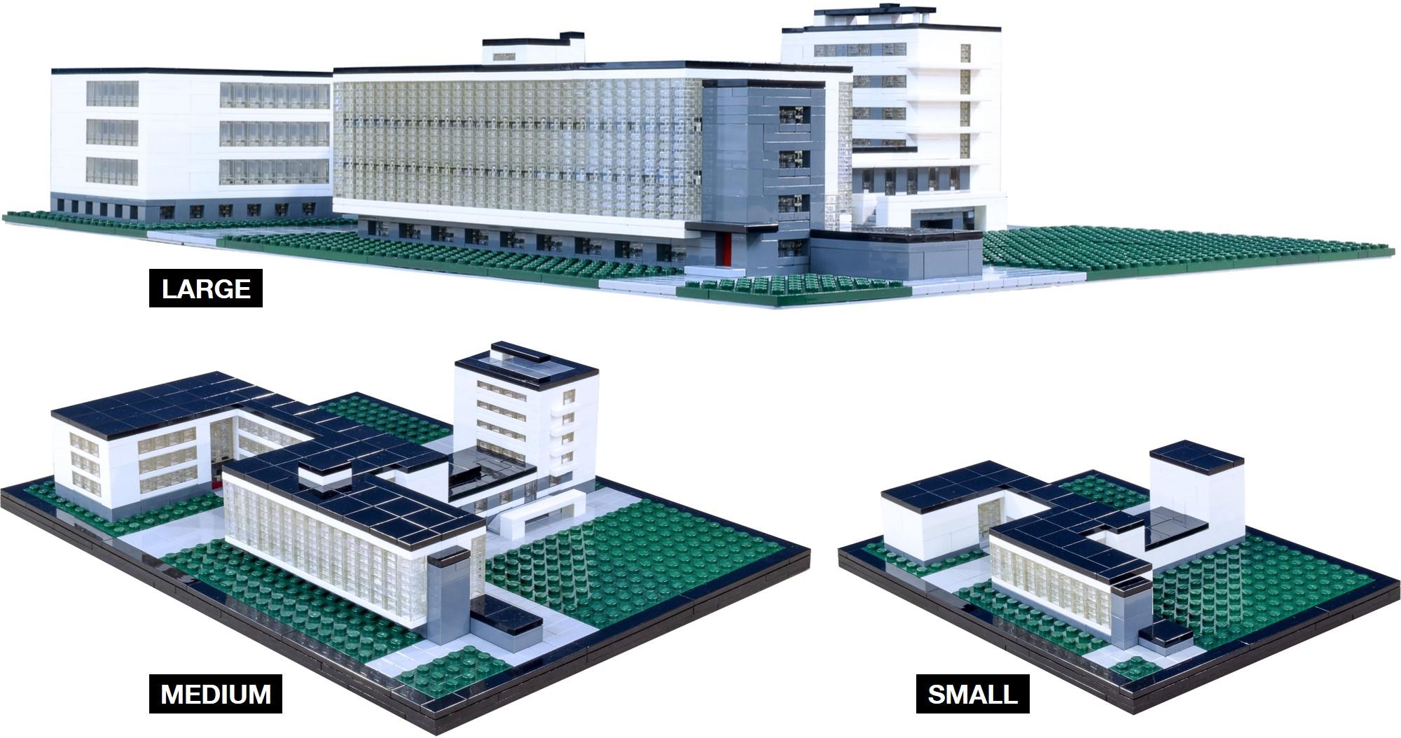 Bauhaus Dessau Brick Architect