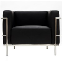 Simple Large Leather Armchair | Modern Furniture ...