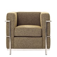 Simple Medium Wool Armchair | Modern Furniture  Brickell ...