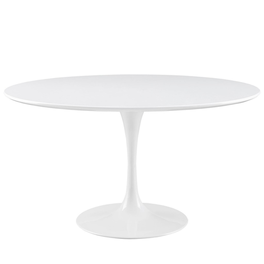 36 Tulip Table Brilliant White Table Modern Furniture Brickell Collection
