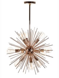 Spine Rose Gold Pendant Light | Modern Furniture ...