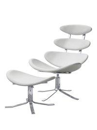 Futuristic Lounge Chair Set   Modern Furniture  Brickell ...