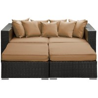 Houston Outdoor Lounge Bed | Modern Furniture  Brickell ...