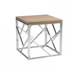 Small Crop Of Wood Side Table