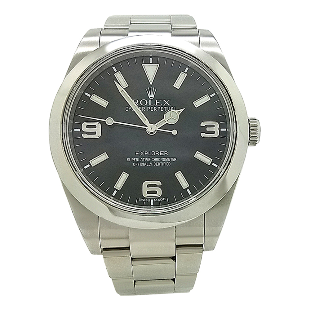 Rolex Explorer Details About Rolex Explorer 214270 Black Dial Stainless Steel 39mm Automatic Watch