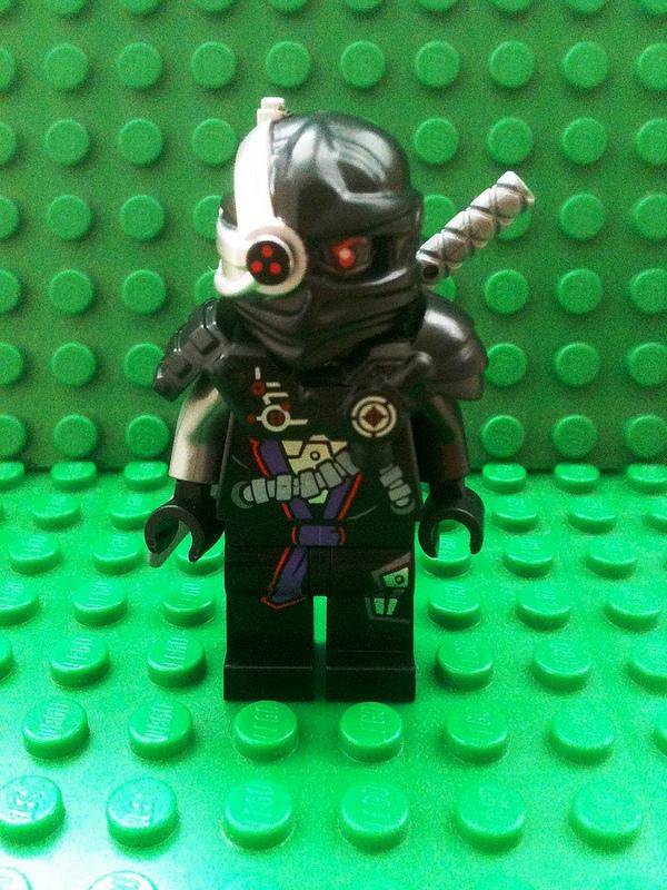 Black Brick Wallpaper Lego Ninjago 2014 Cyborg Figure And Set Images Brickextra