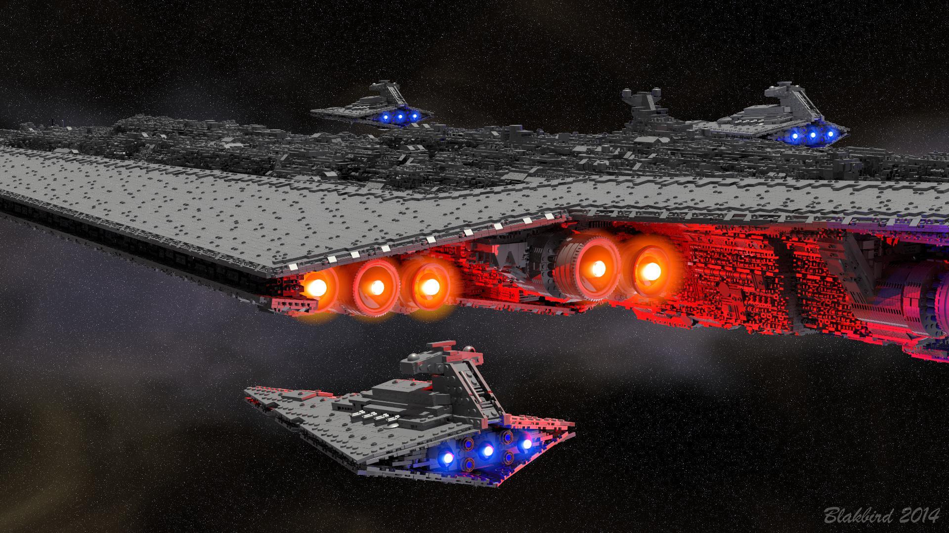 Lego Star Wars Wallpaper Hd Super Star Destroyer Bricksafe