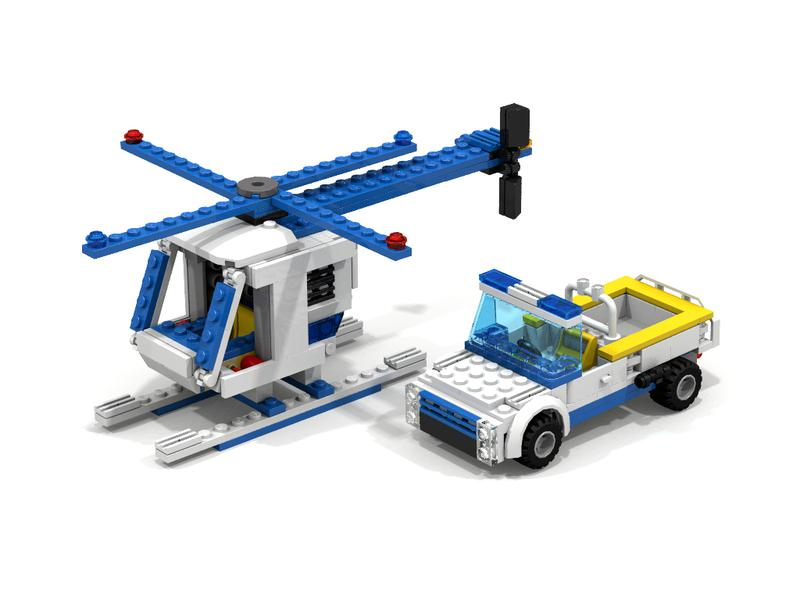 Alternate Models Challenge 60044 Mobile Police Unit