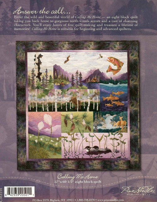 Details About MCKENNA RYAN HIDDEN LAKE APPLIQUE QUILT PATTERN Halloween Quilt Patterns Applique