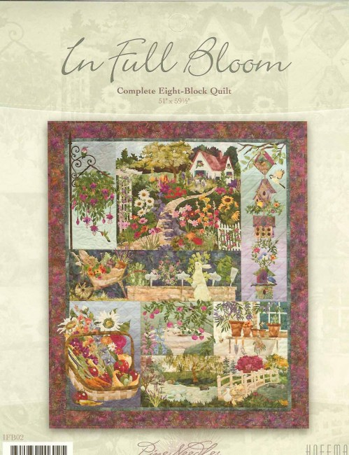 Details About MC KENNA RYAN IN FULL BLOOM 4 APPLIQUE QUILT PATTERN Halloween Quilt Patterns Applique
