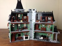 ninjago rush temple on haunted hill