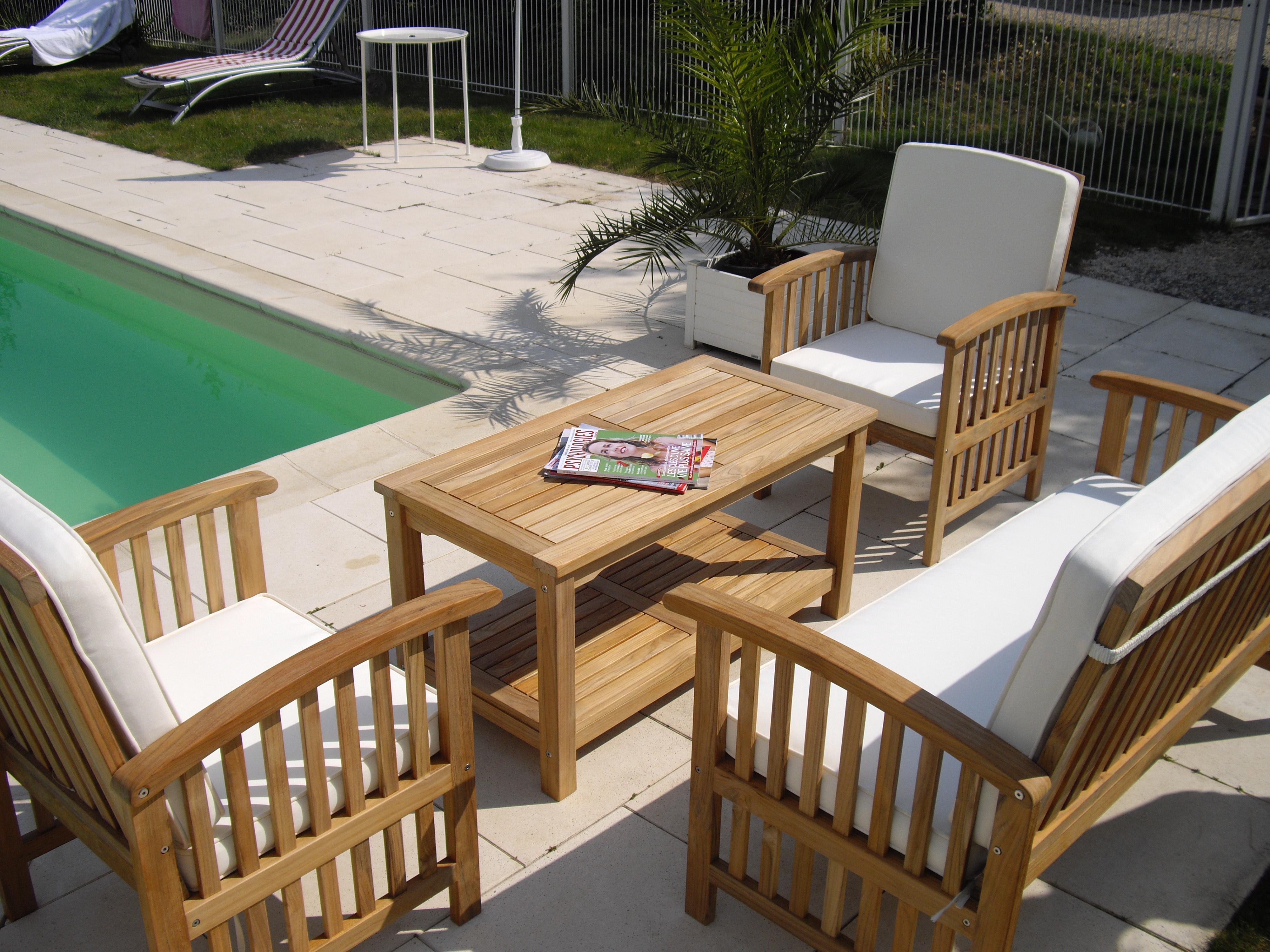 Riverside Salon De Jardin | Best Salon De Jardin Wicker Blanc Ideas ...