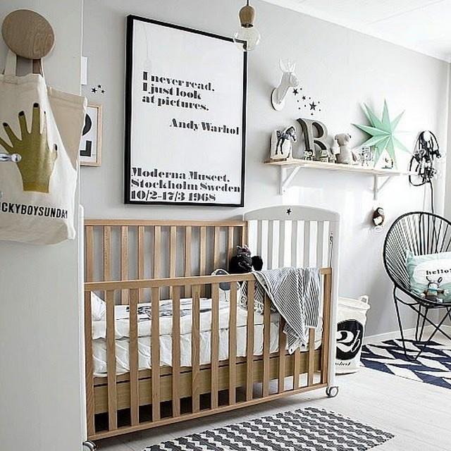 Chambre Bebe Design Scandinave