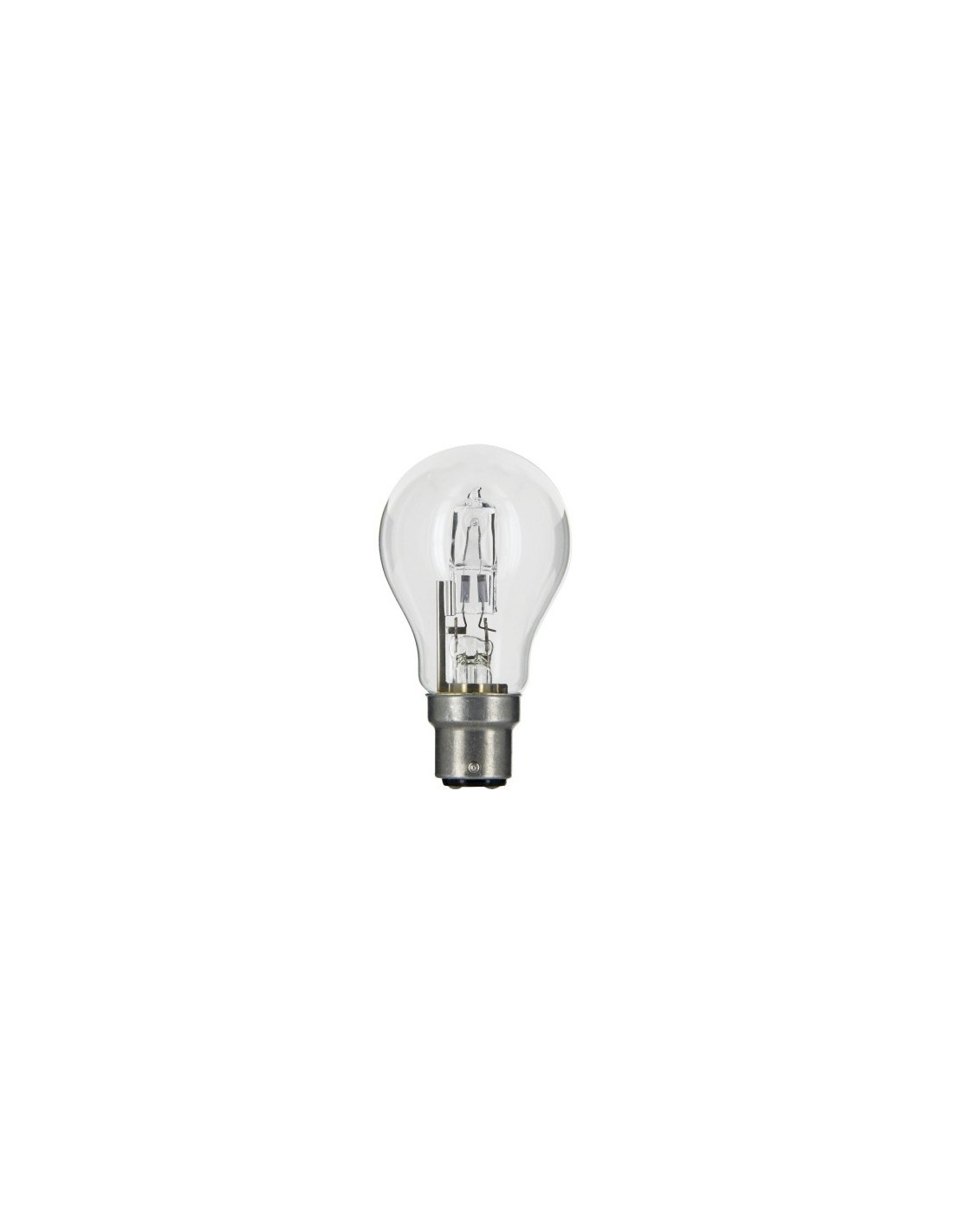 Lampe Eco Lampe Eco Halogen Standard B22 Ls Blister 53 835 1 Brico