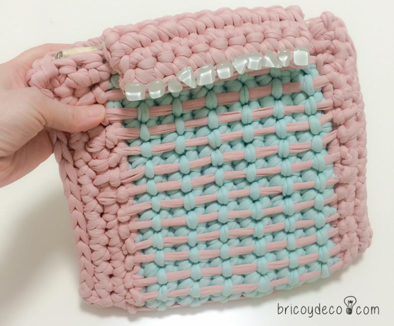 bolsos de trapillo originales combinando colores