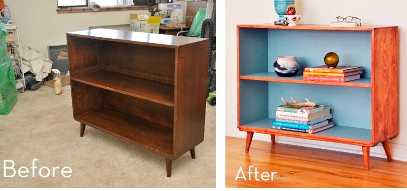 Renueva tus muebles con pintura azul