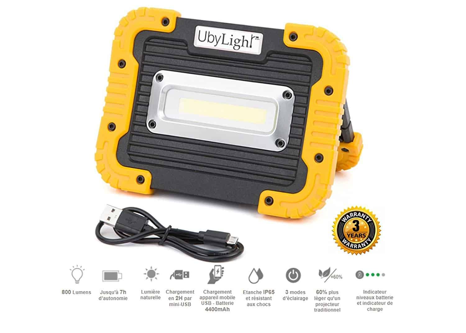 Eclairage Led Chantier Meilleur Projecteur Led Rechargeable De Chantier