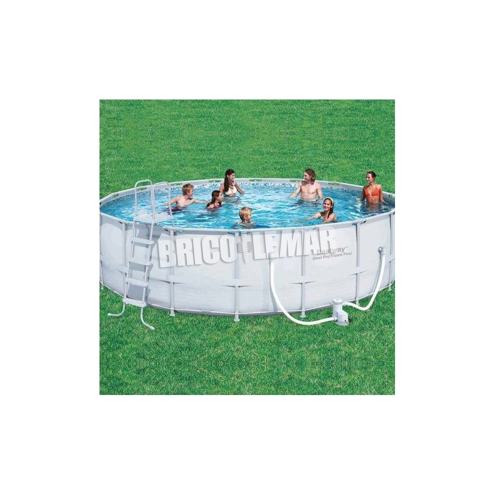 Piscinas Desmontables Madrid Piscina Desmontable Tubular Bestway Power Steel 549x132cm Redonda