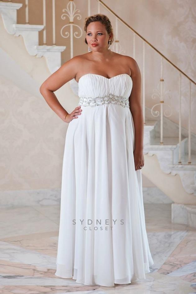 Plus size wedding dress designers usa eligent prom dresses for Wedding dresses usa online shopping