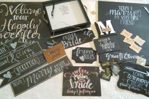 Creative wedding Signs and Rustic Decor by Southern Cottage Signs