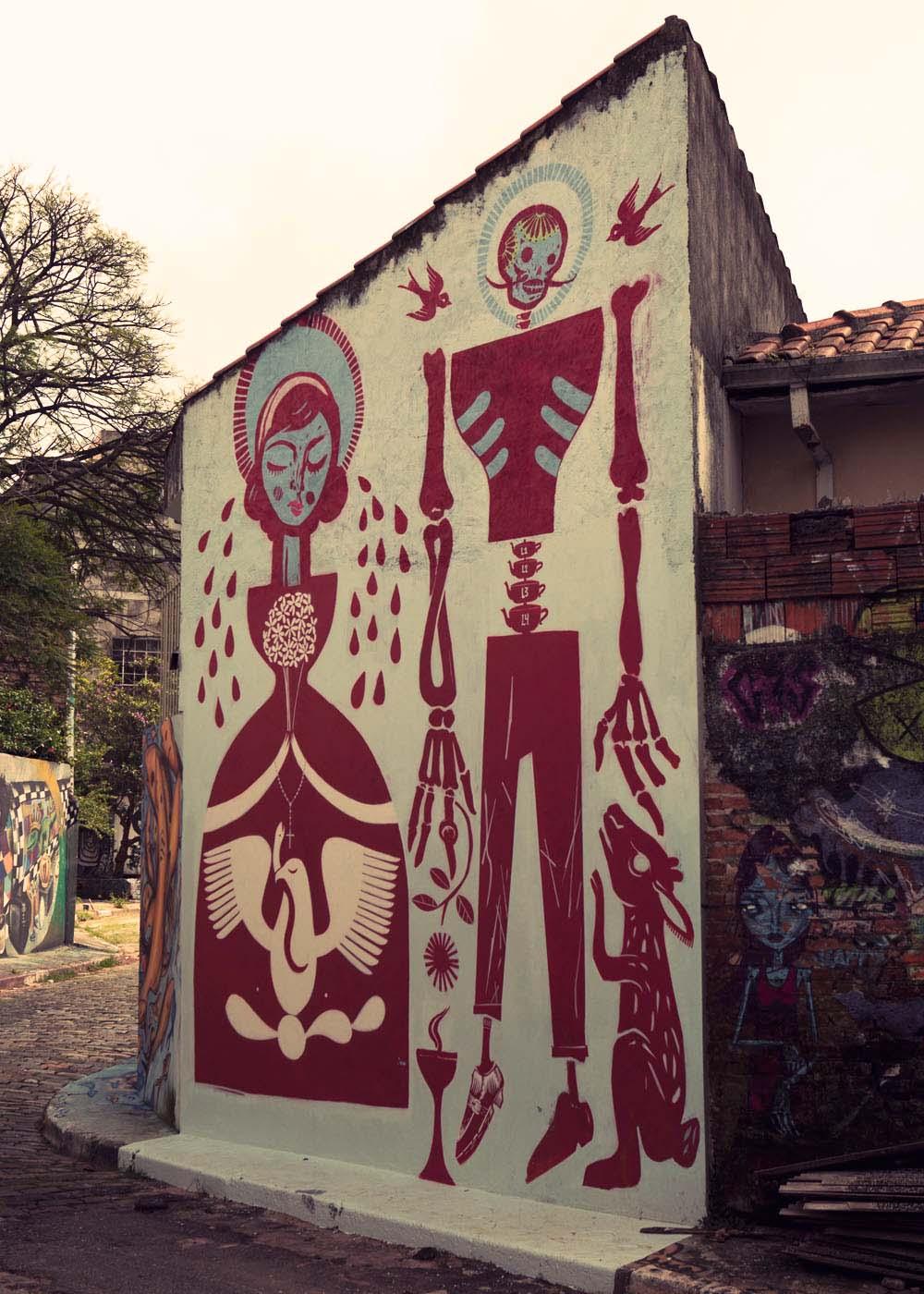 Mexican graffiti Sao Paulo