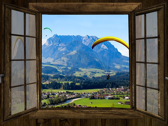Fenster Mit Aussicht Improve Your Room With Fake Window Canvas Prints - Bridges Web