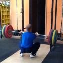Front Squat Olympic Weightlifting Justin Deveraux Bridgetown Barbell Club Portland, OR