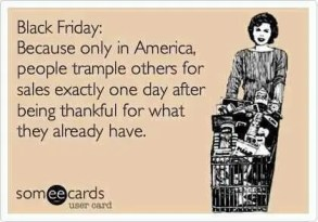 Black Friday Humor