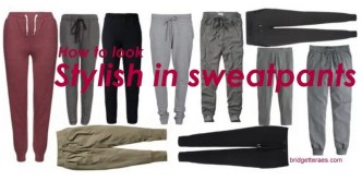 Sweatpants with style