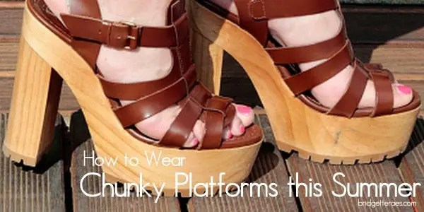 chunky platforms