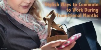 stylish ways to commute to work