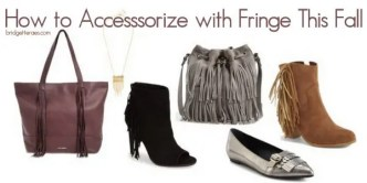 accessorize with fringe